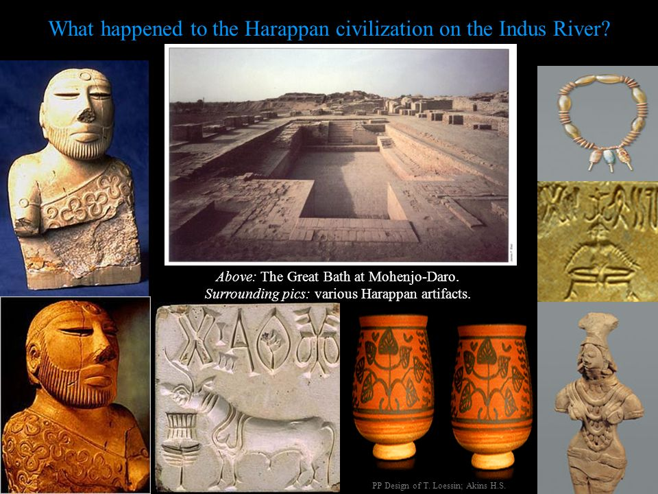 What happened to the Harappan civilization on the Indus River