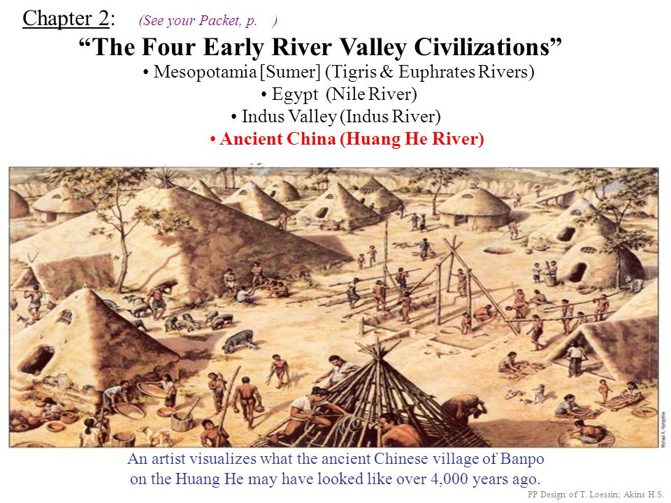 Ancient China (Huang He River)