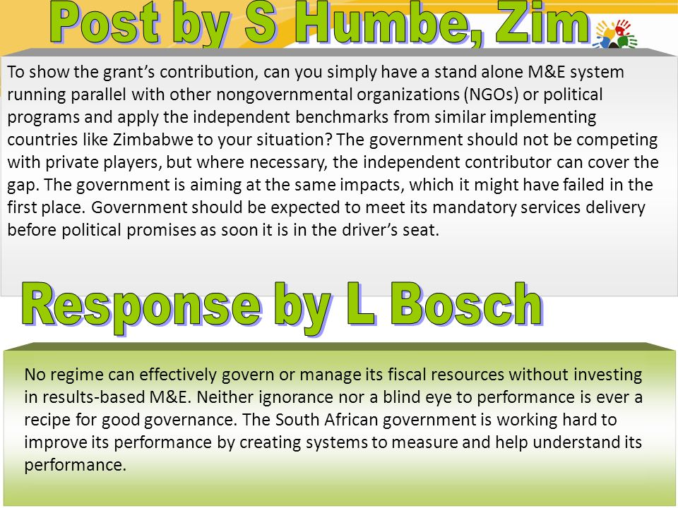 Post by S Humbe, Zim