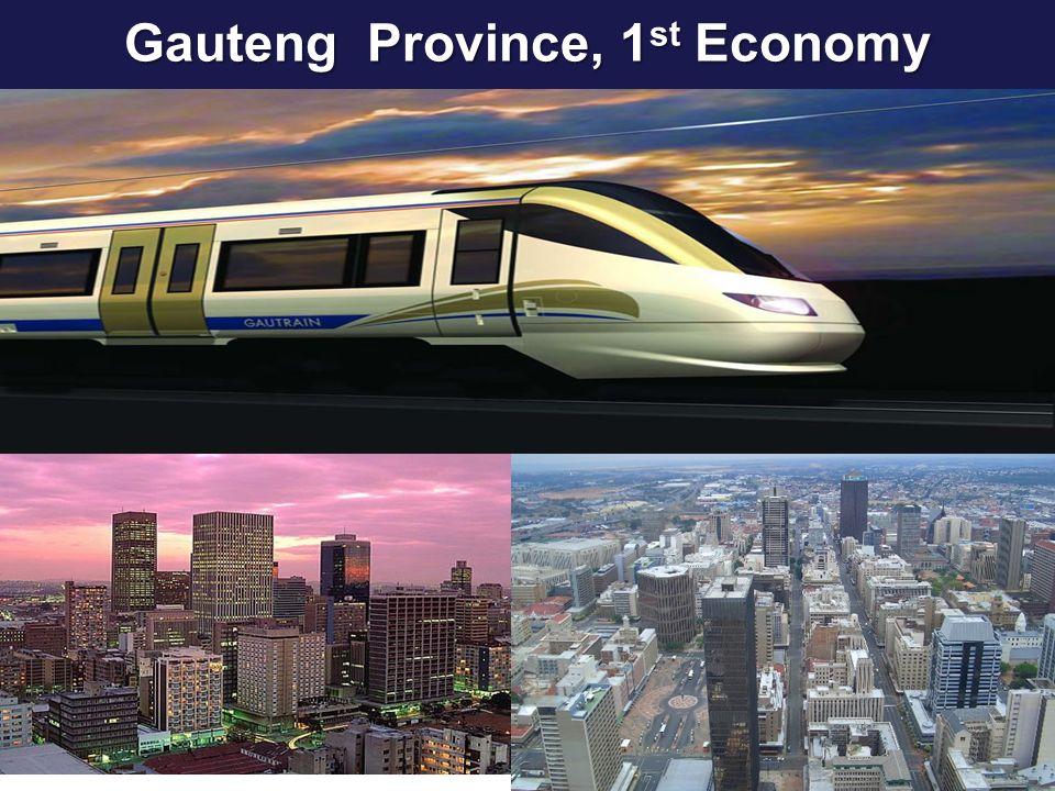 Gauteng Province, 1st Economy
