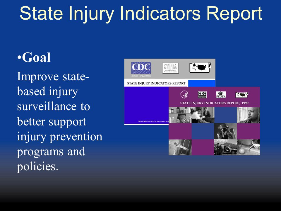 State Injury Indicators Report