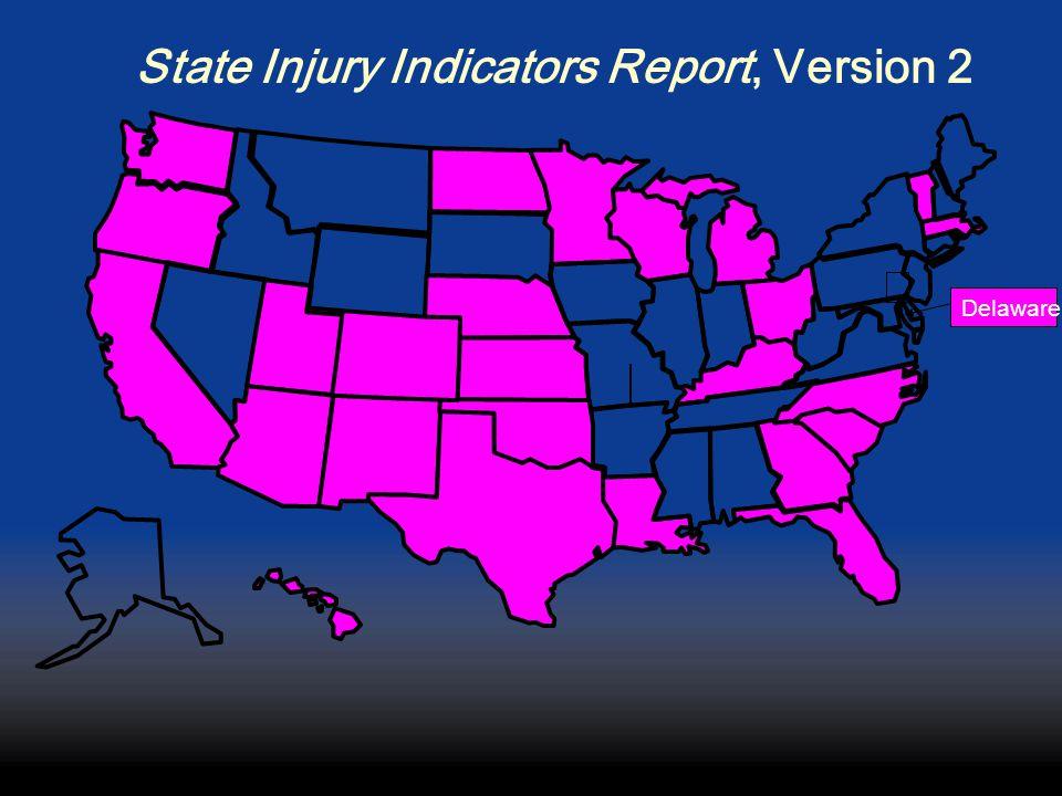 State Injury Indicators Report, Version 2