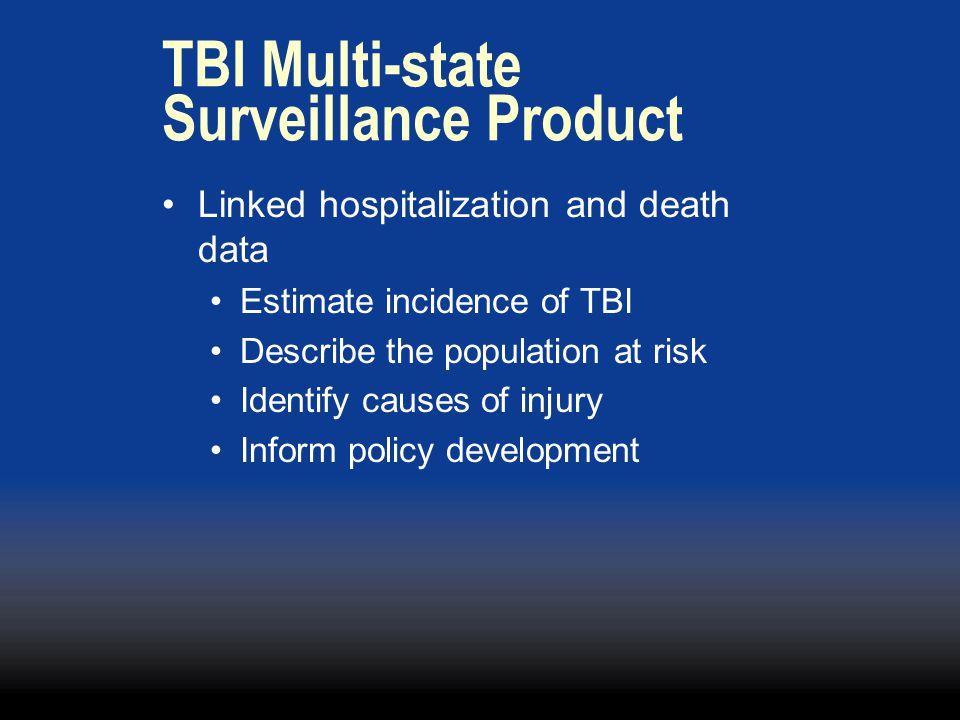TBI Multi-state Surveillance Product