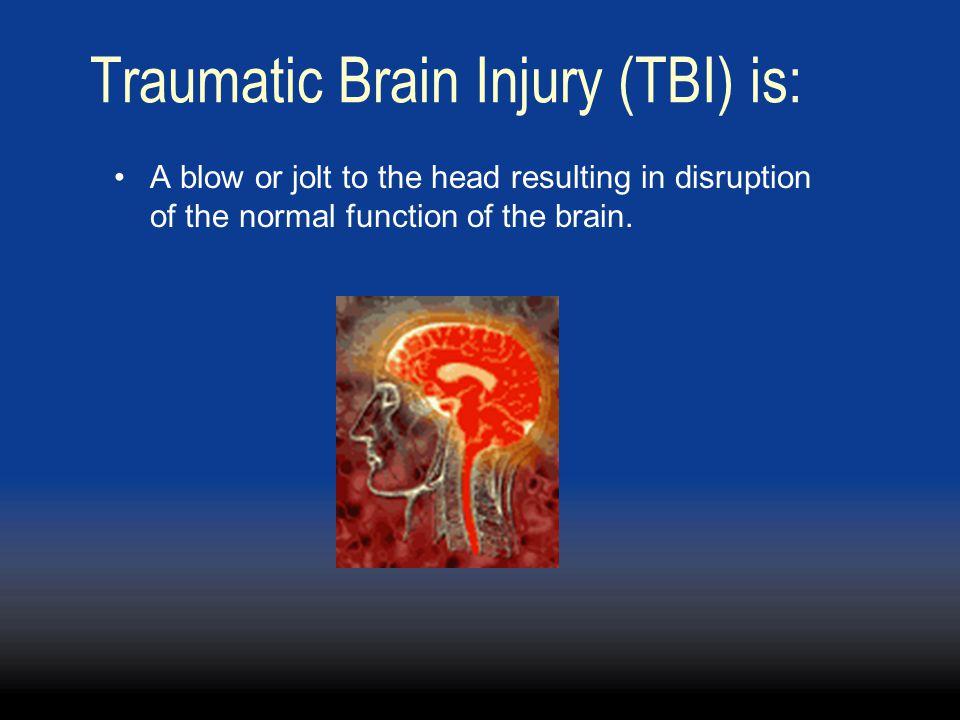 Traumatic Brain Injury (TBI) is: