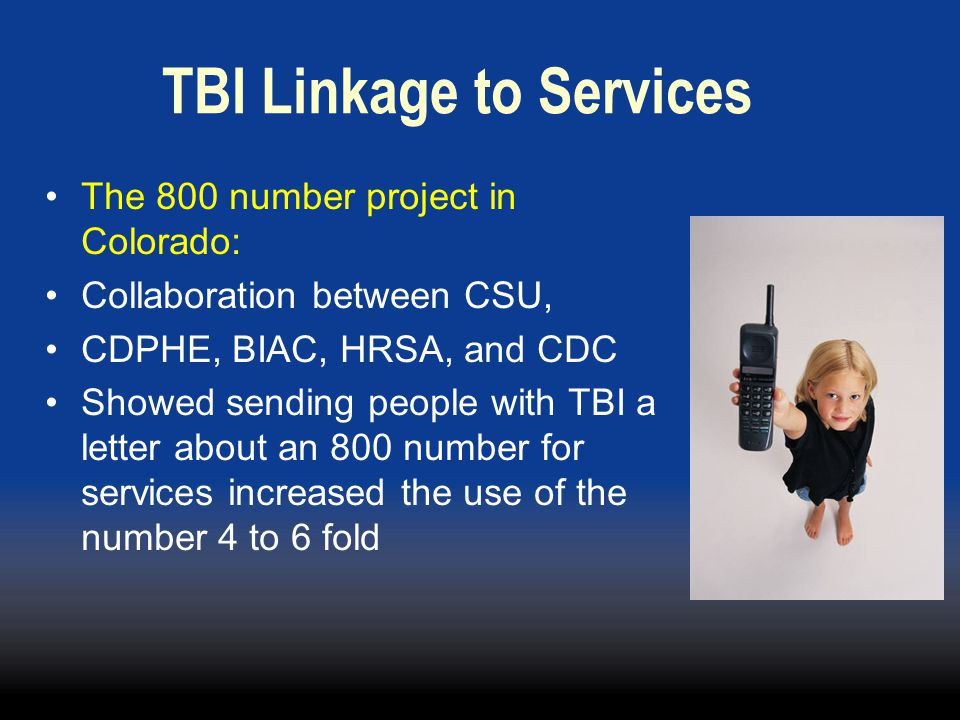 TBI Linkage to Services