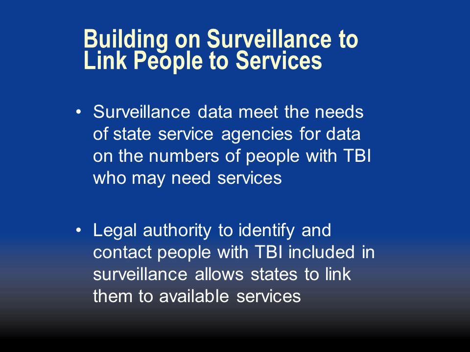 Building on Surveillance to Link People to Services