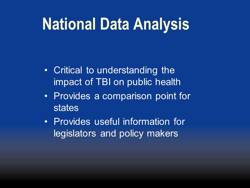 National Data Analysis