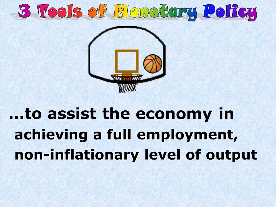 3 Tools of Monetary Policy