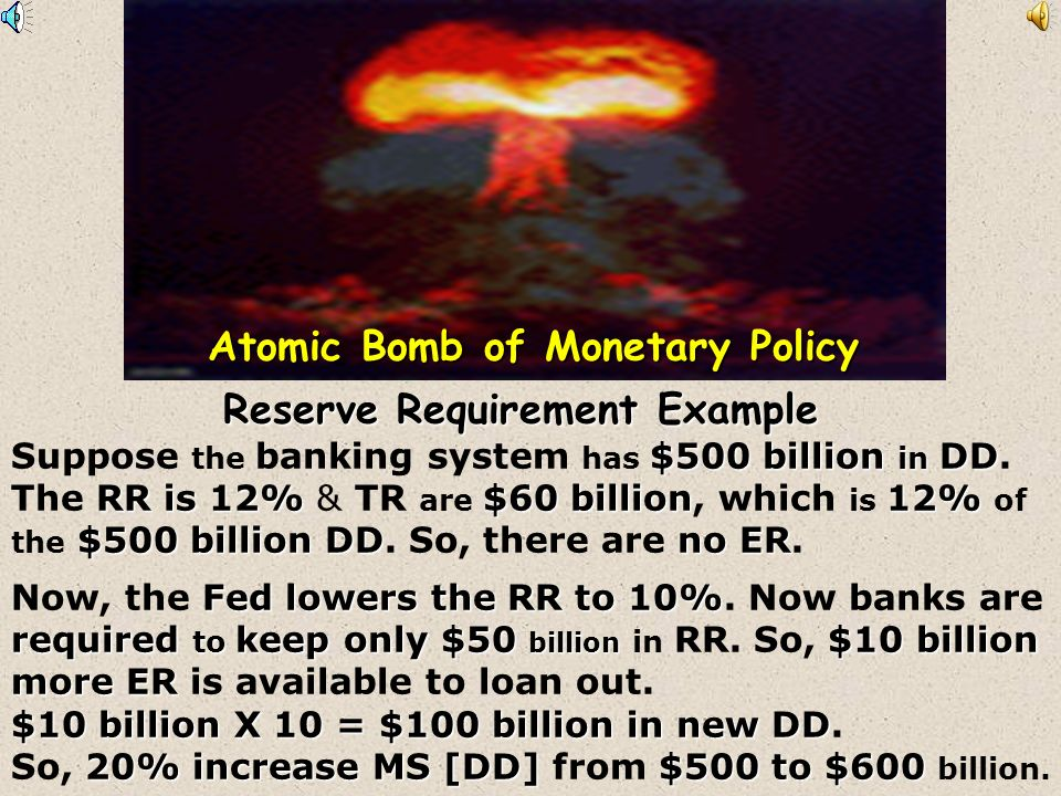Atomic Bomb of Monetary Policy