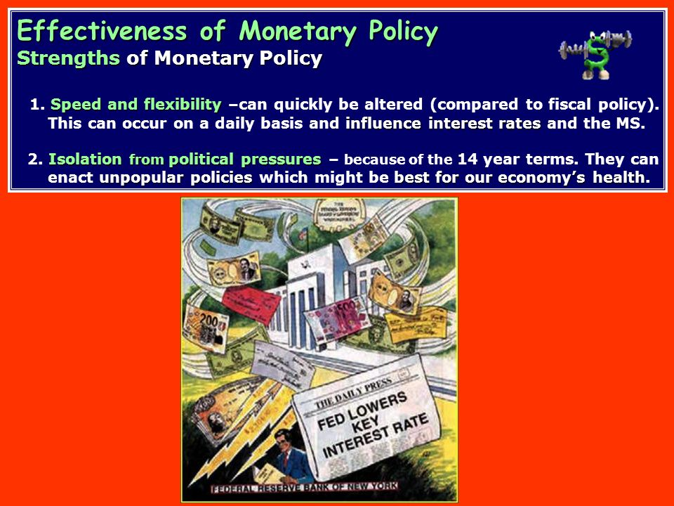 Effectiveness of Monetary Policy