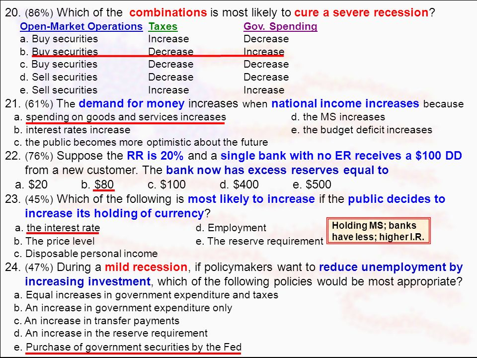 from a new customer. The bank now has excess reserves equal to