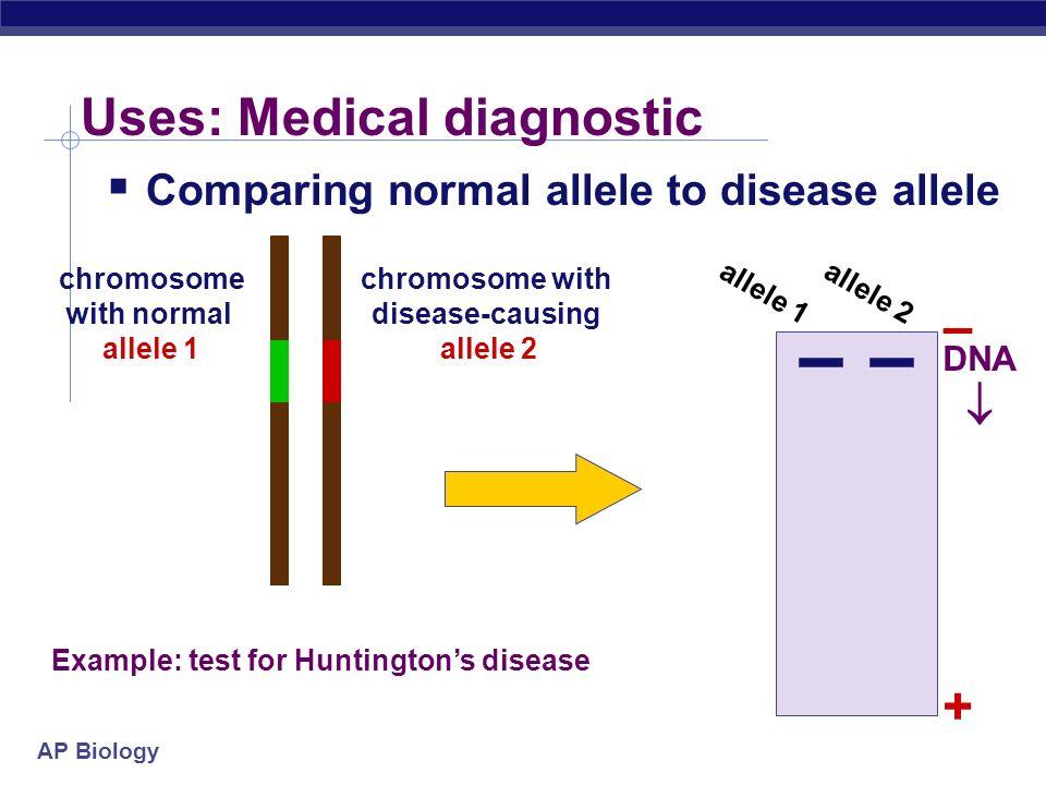 Uses: Medical diagnostic