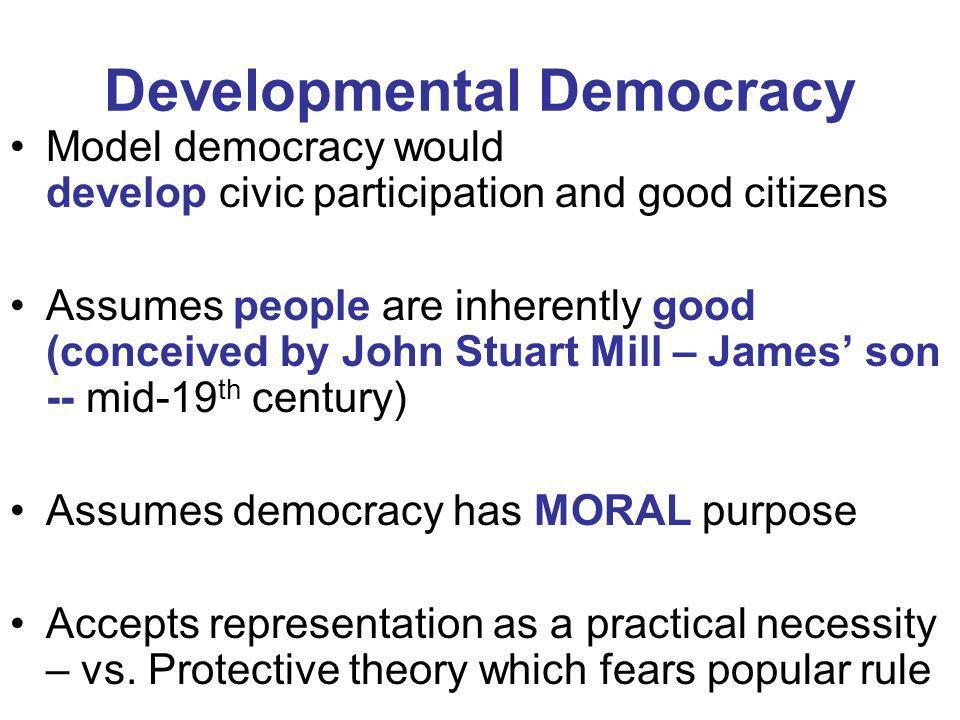 Developmental Democracy