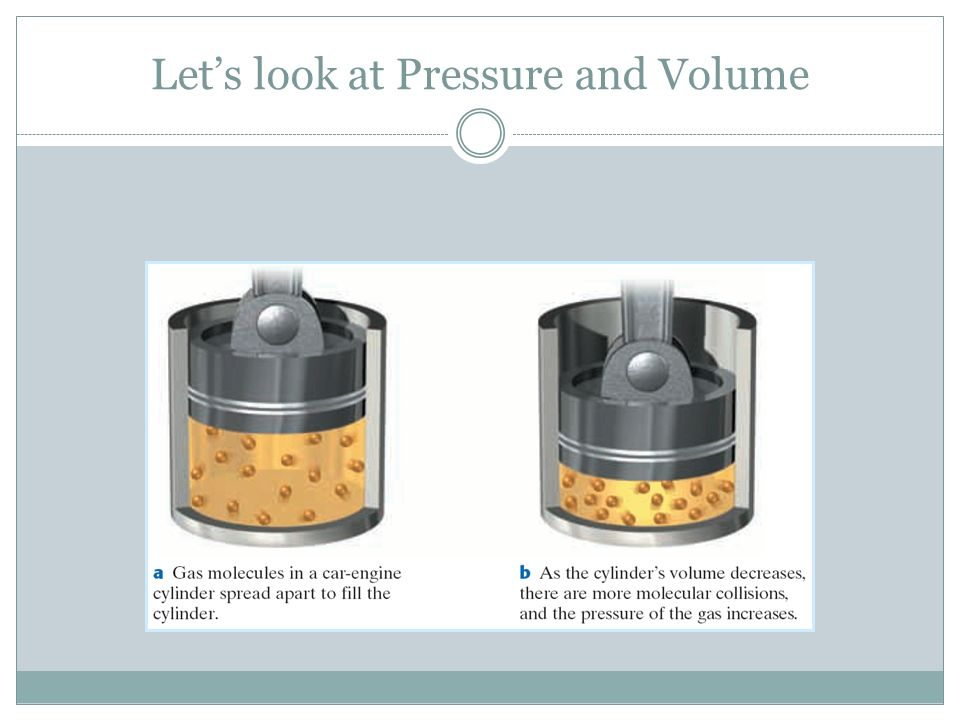 Let's look at Pressure and Volume