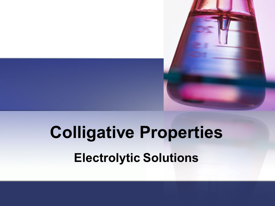 colligative solutions Faq on colligative properties in jee  colligative property of solutions is an important topic in the physical chemistry to prepare for jee.