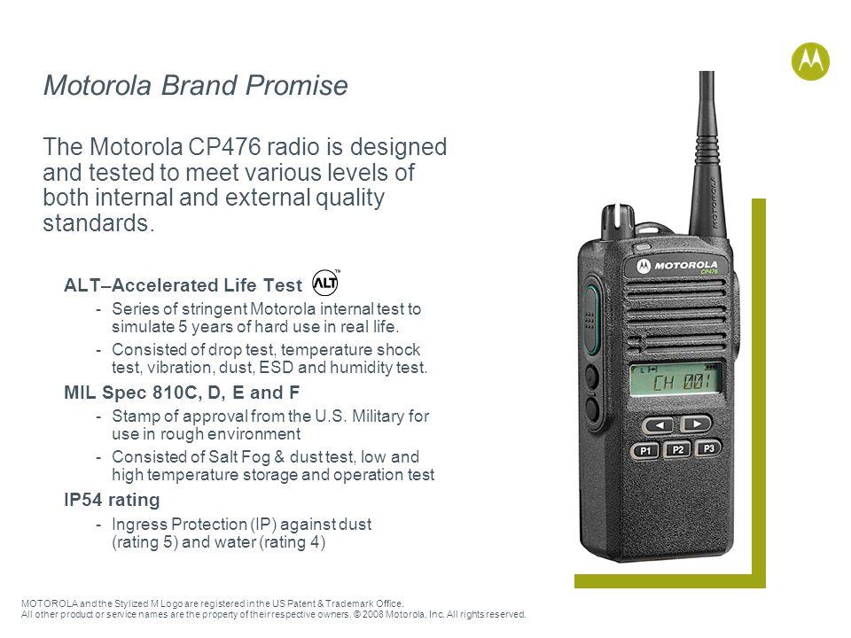 Motorola Brand Promise