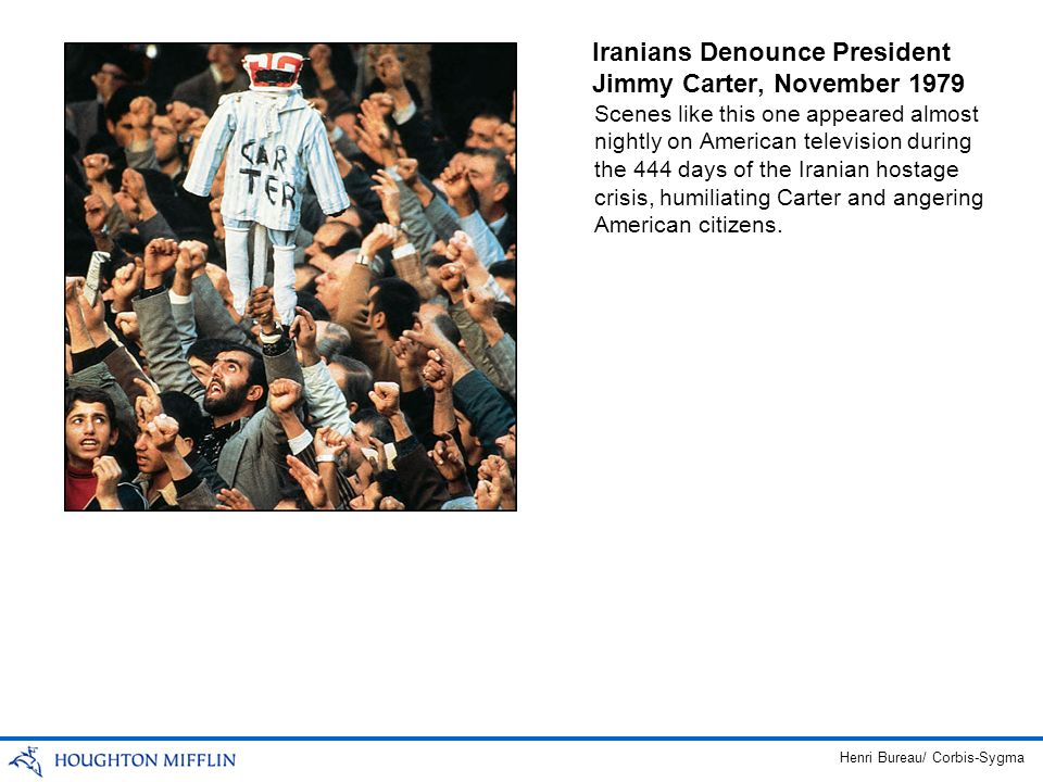 Iranians Denounce President Jimmy Carter, November 1979