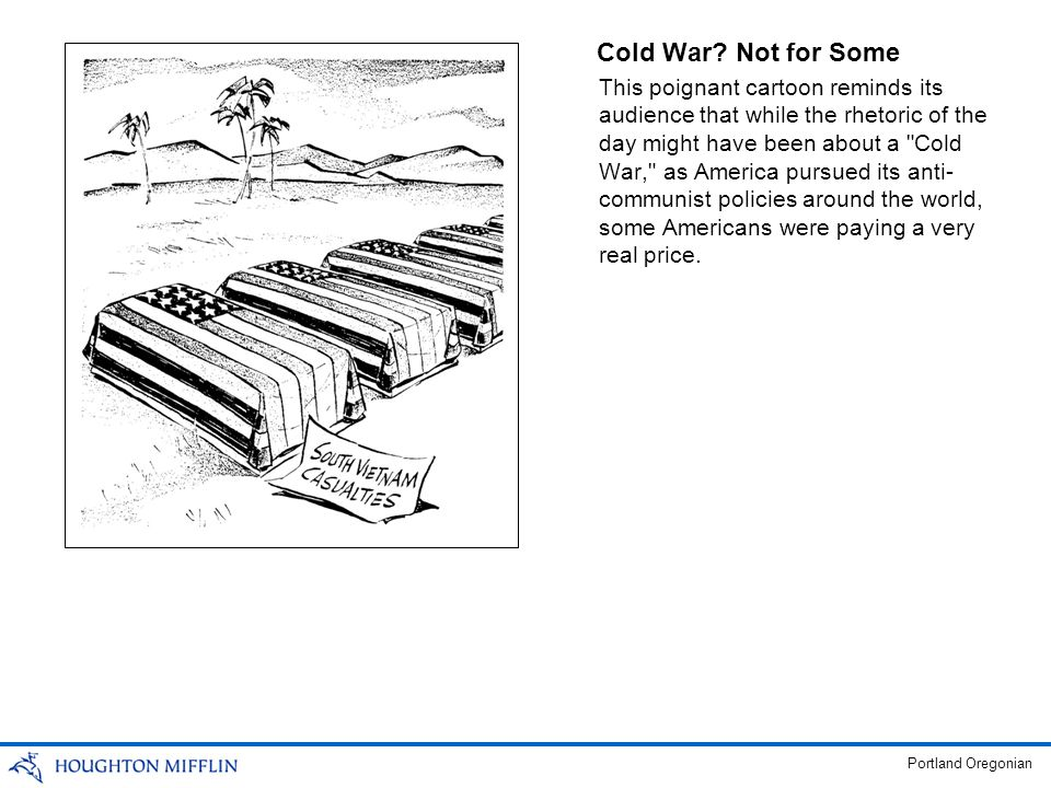 Cold War Not for Some