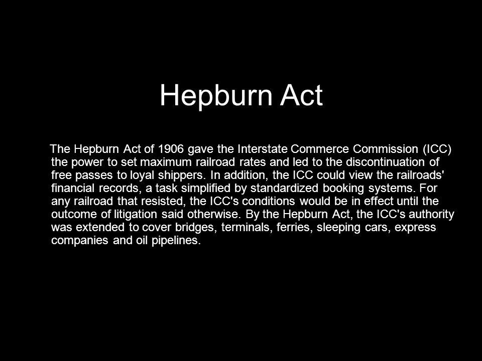Hepburn Act