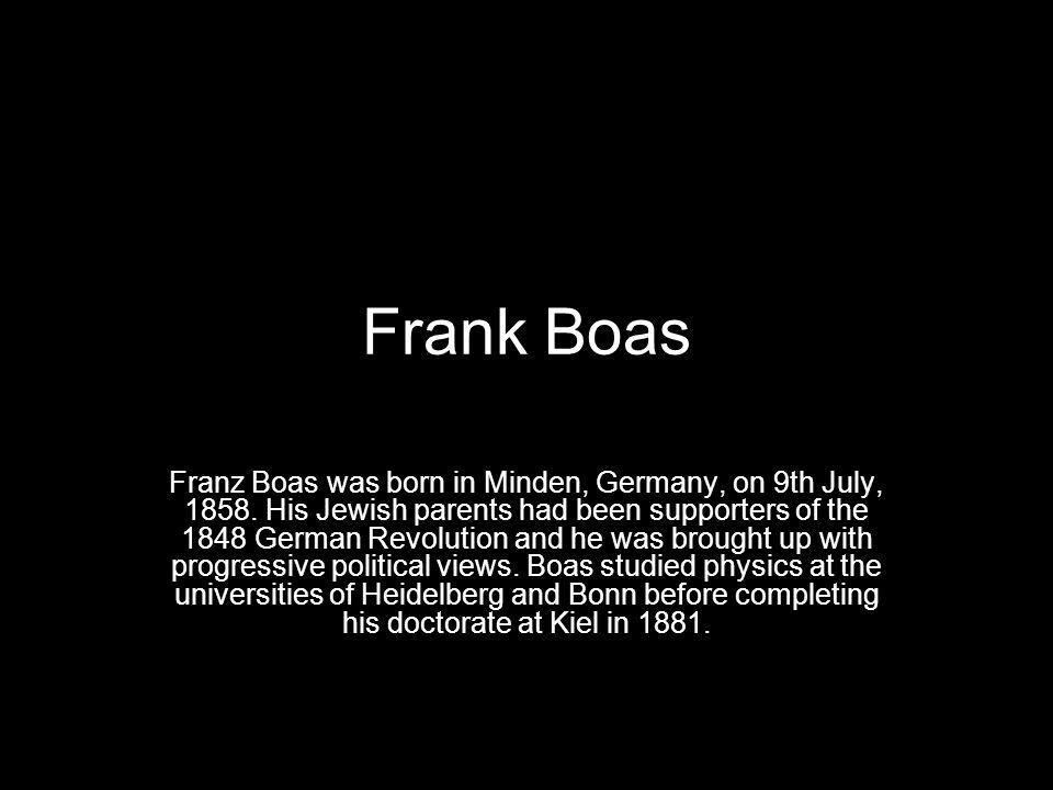 Frank Boas