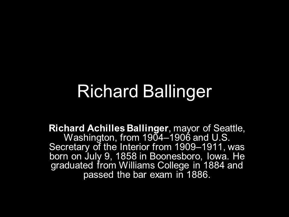 Richard Ballinger