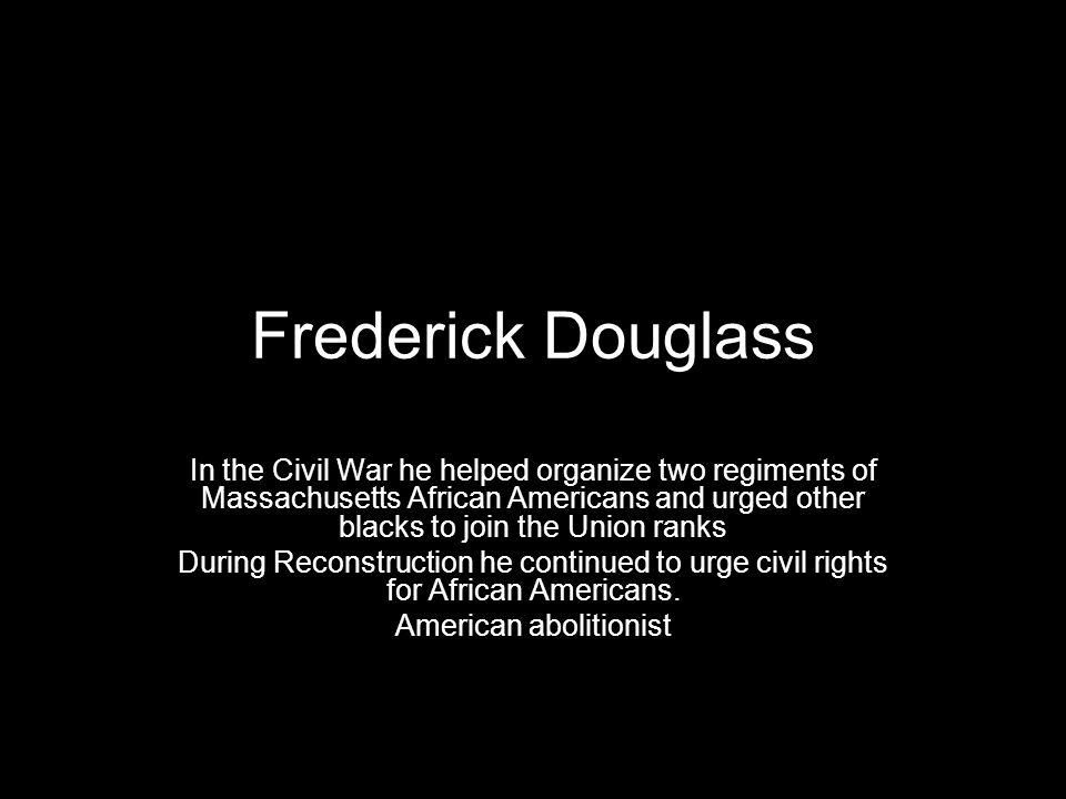 American abolitionist