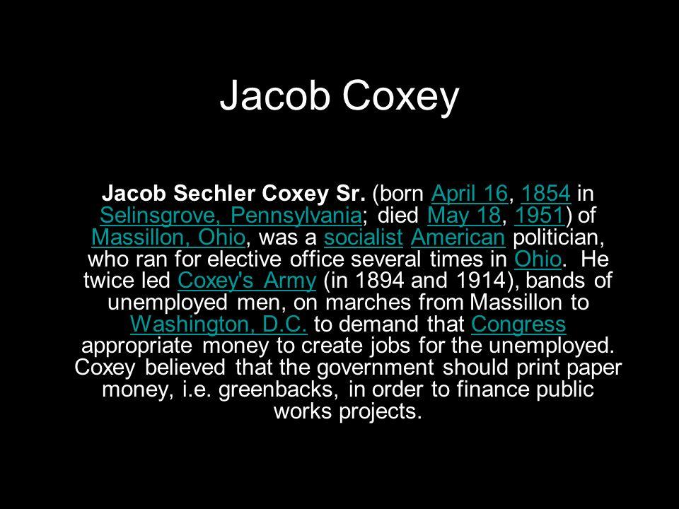 Jacob Coxey