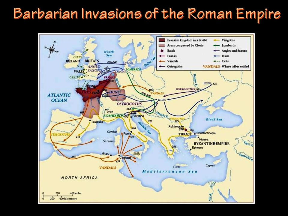 Barbarian Invasions of the Roman Empire