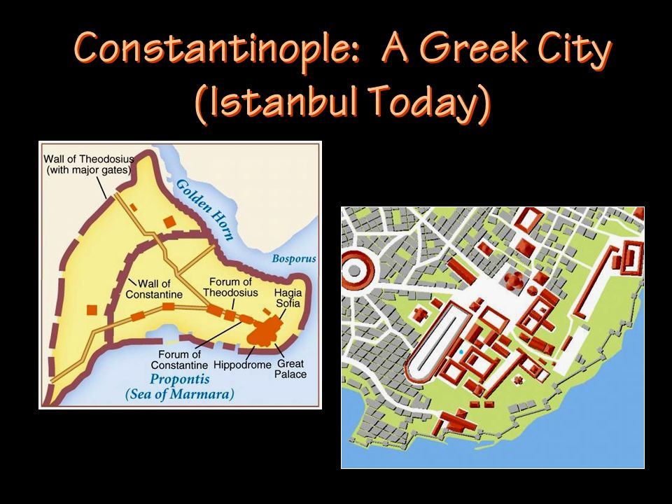 Constantinople: A Greek City (Istanbul Today)