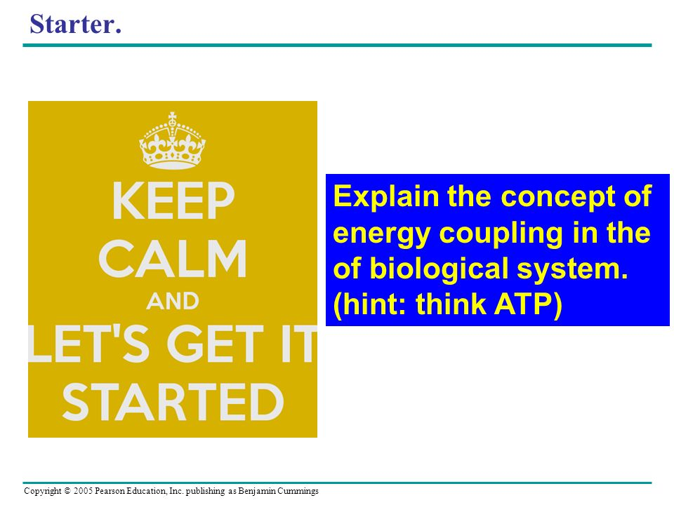 Explain the concept of energy coupling in the of biological system.
