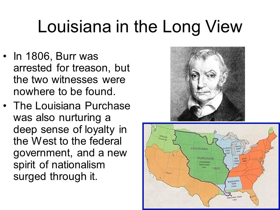 Louisiana in the Long View