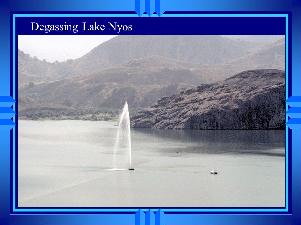 Degassing Lake Nyos