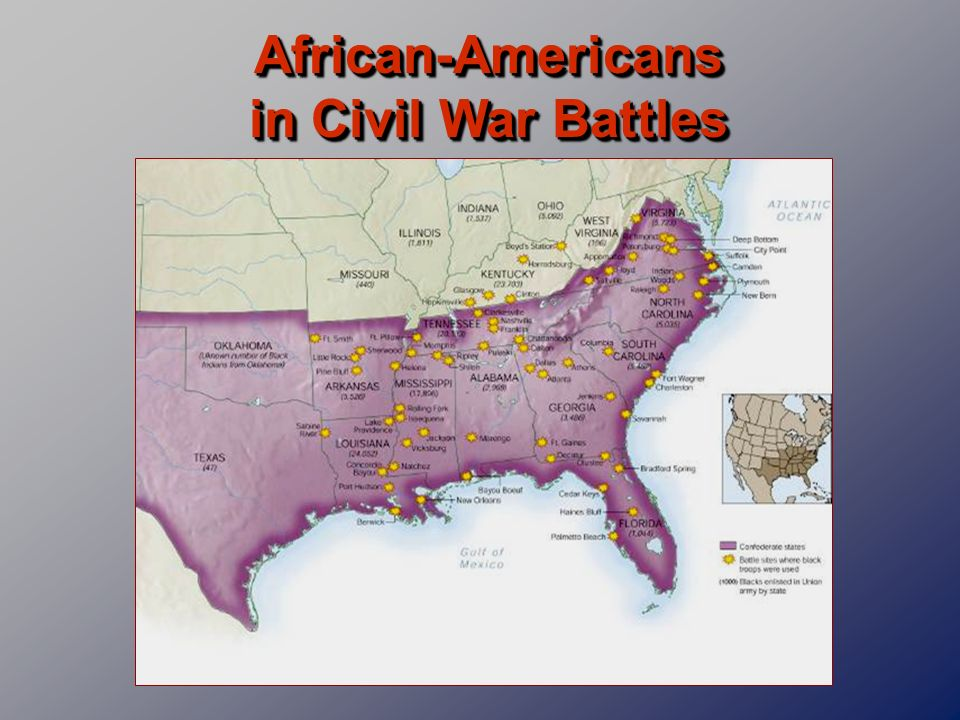 African-Americans in Civil War Battles