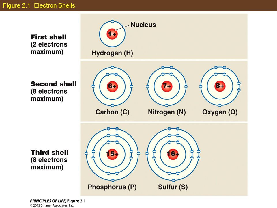 Figure 2.1 Electron Shells