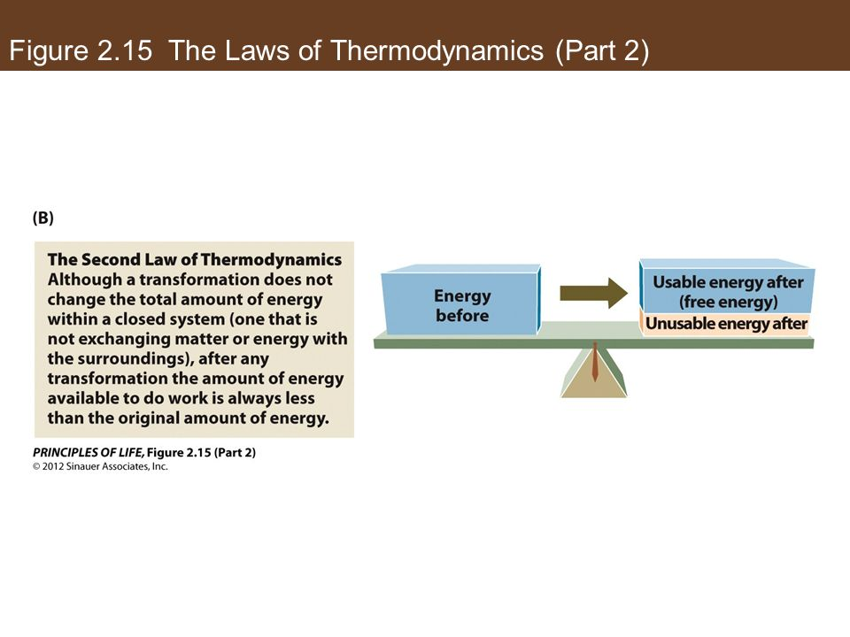 Figure 2.15 The Laws of Thermodynamics (Part 2)