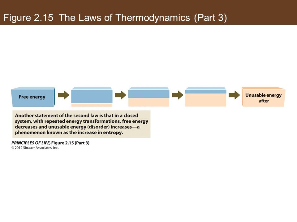 Figure 2.15 The Laws of Thermodynamics (Part 3)