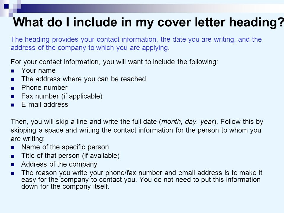 Cover letters and business letters ppt video online download for What not to put in a cover letter