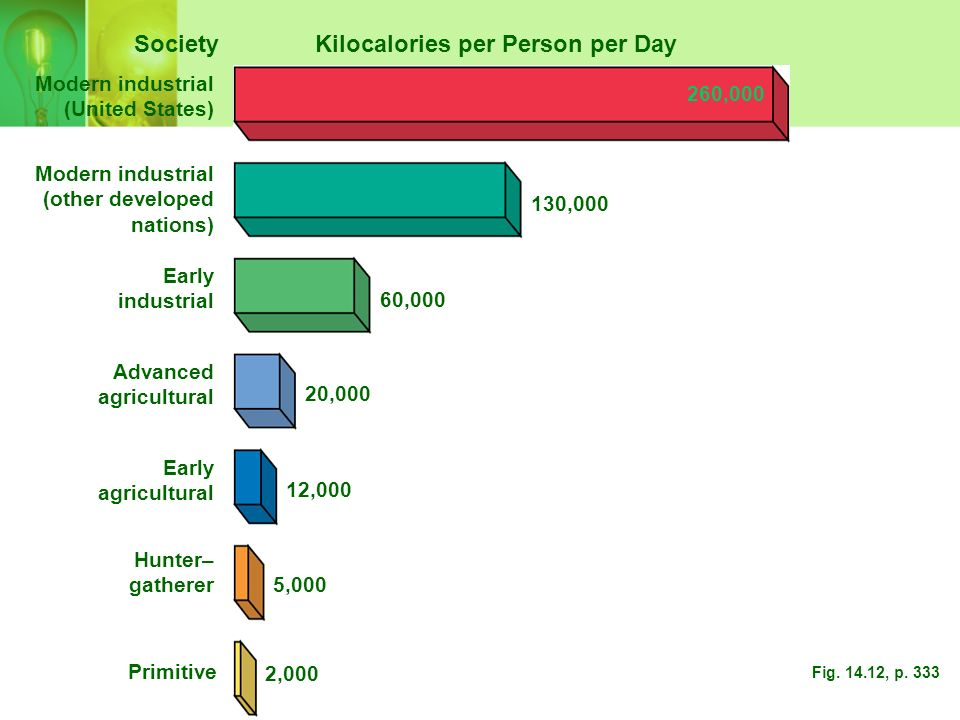 Kilocalories per Person per Day