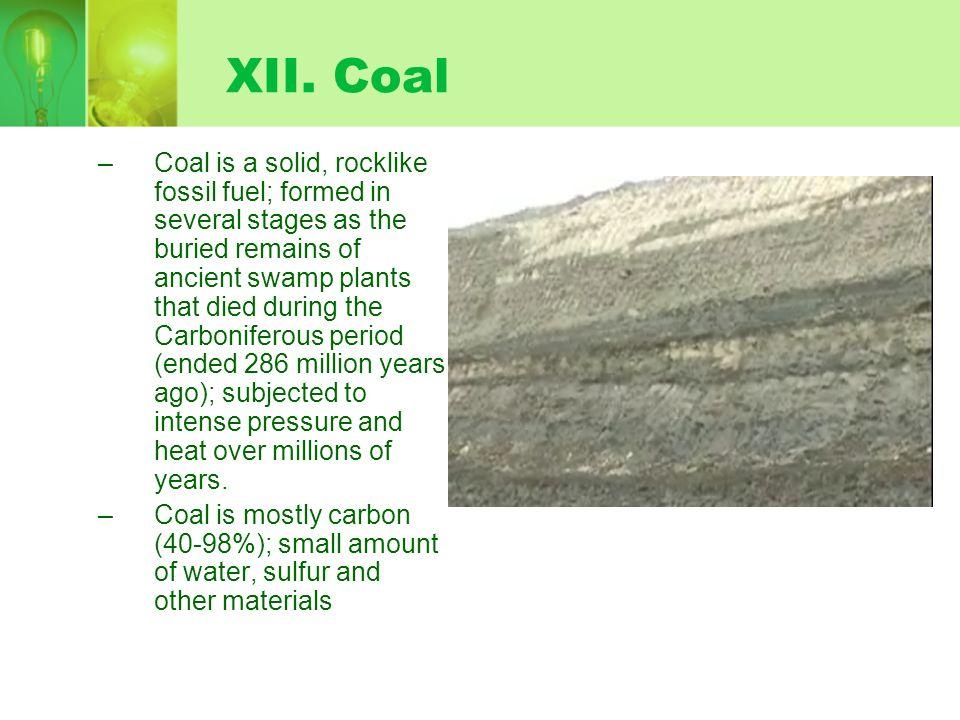 XII. Coal