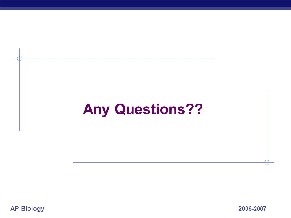 Any Questions 2006-2007