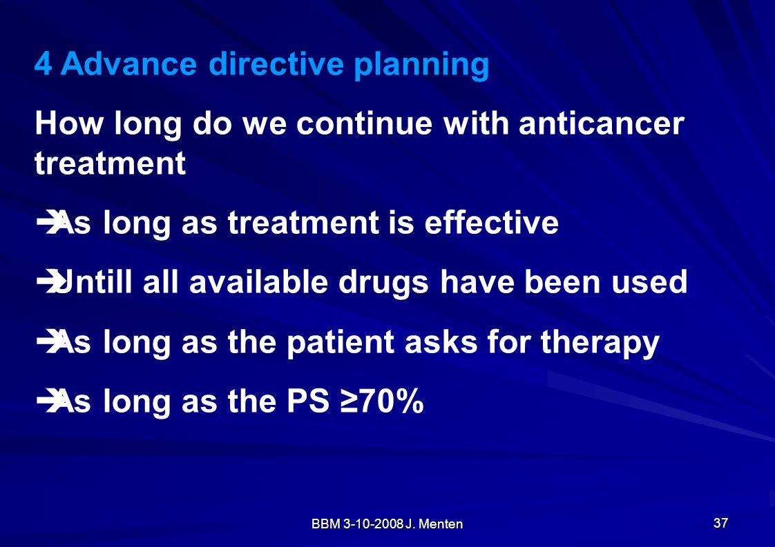 4 Advance directive planning