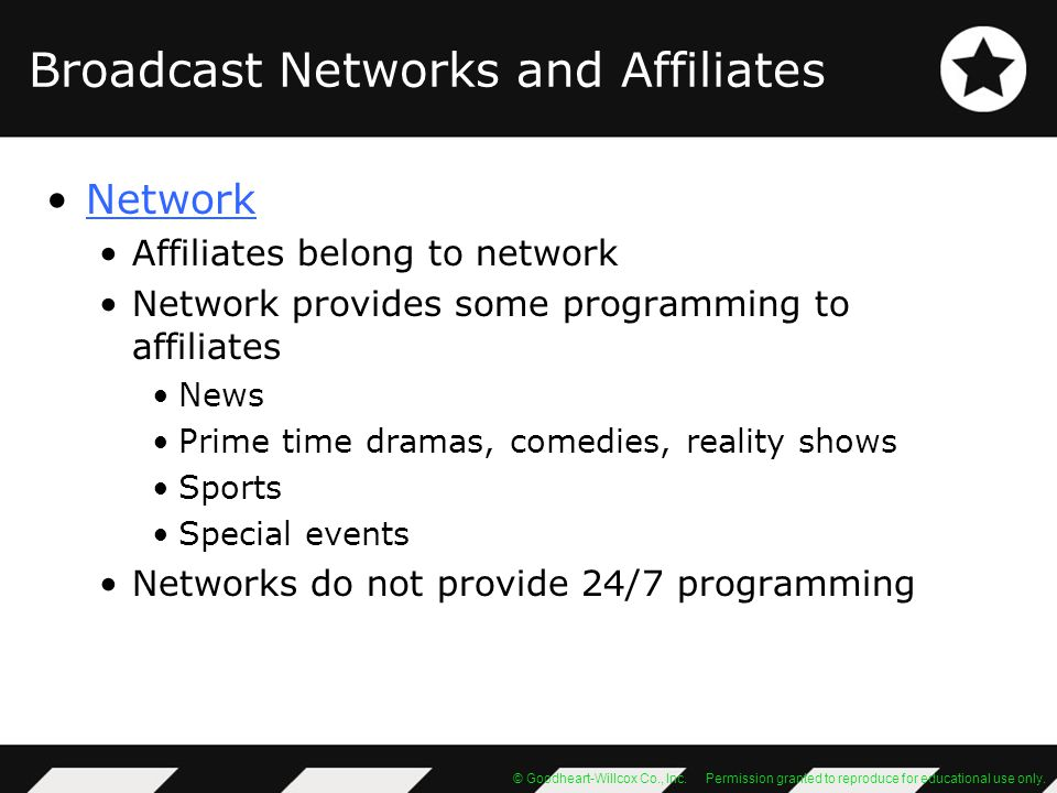 Broadcast Networks and Affiliates