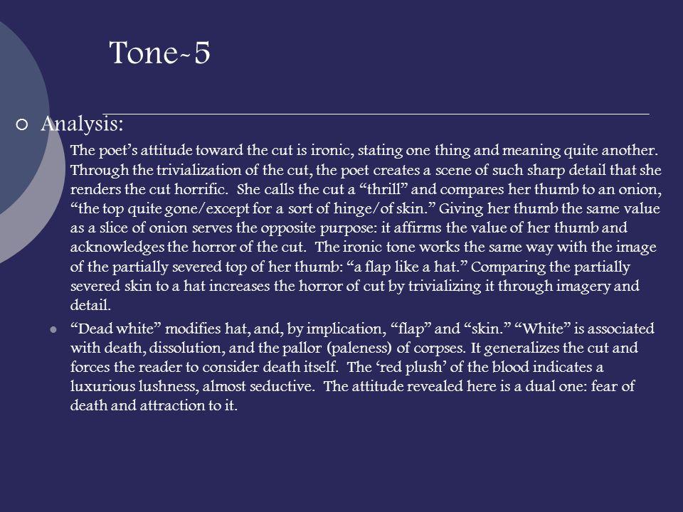 Tone-5 Analysis: