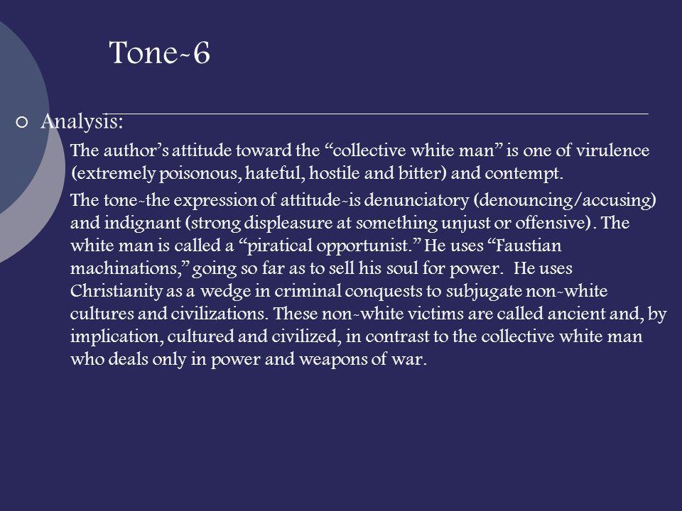 Tone-6 Analysis: