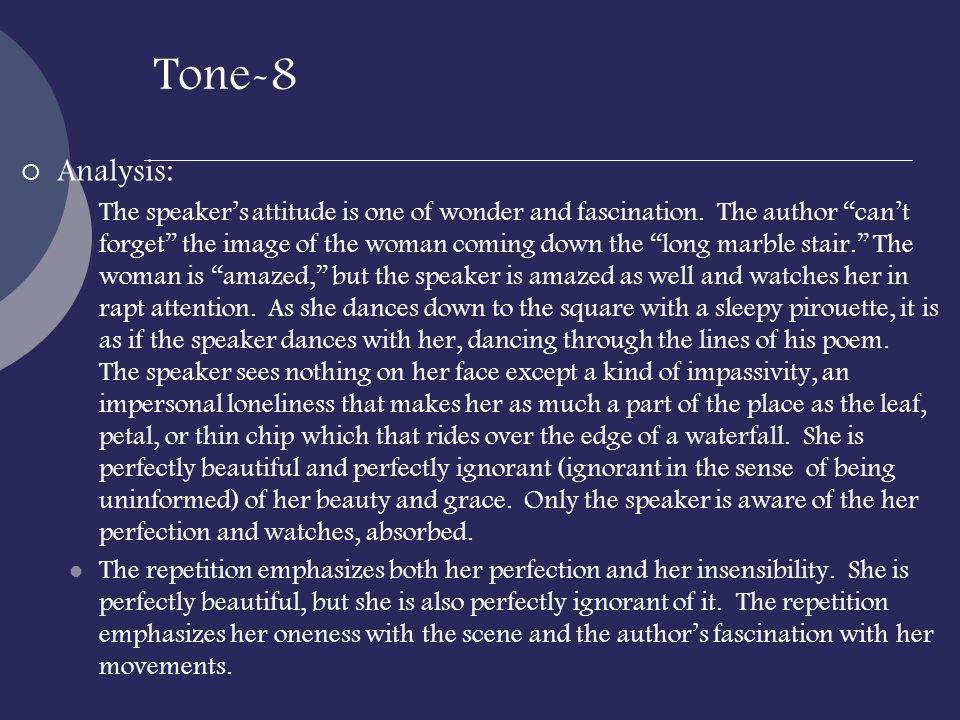 Tone-8 Analysis: