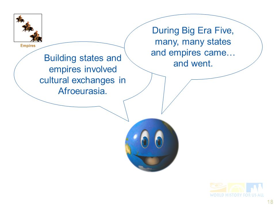 During Big Era Five, many, many states and empires came… and went.