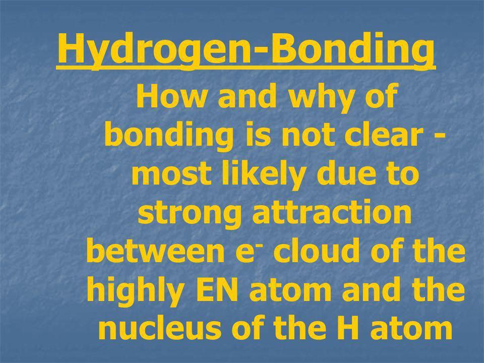 Hydrogen-Bonding