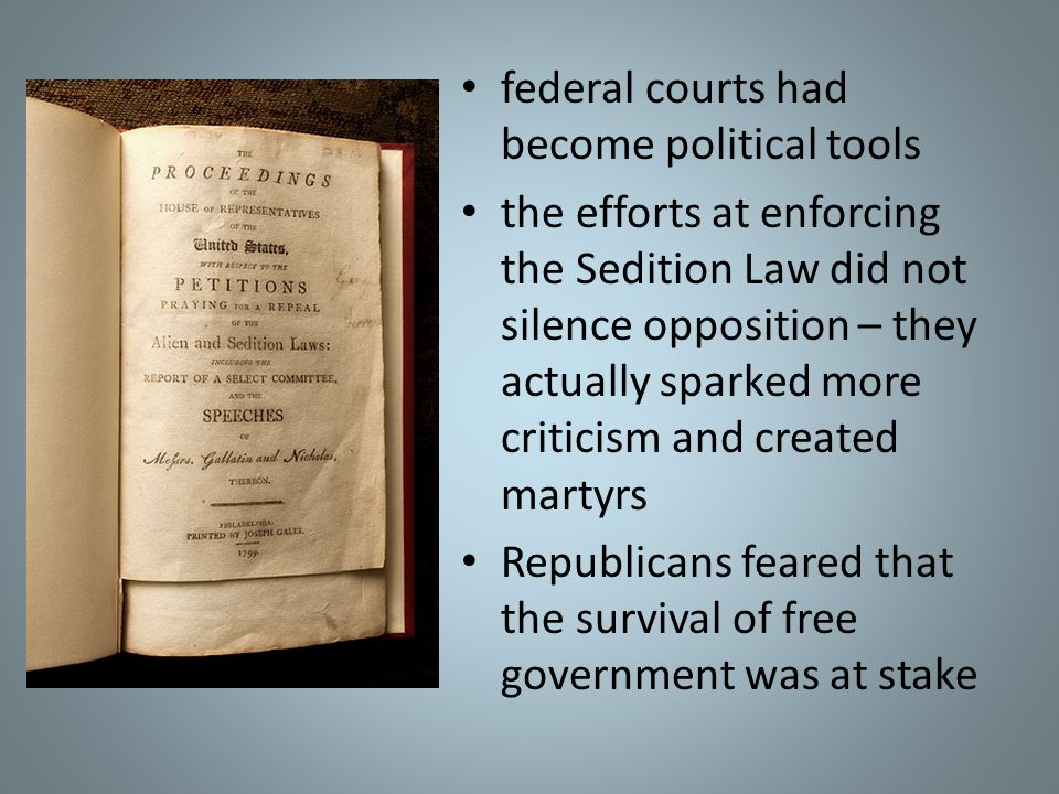 federal courts had become political tools