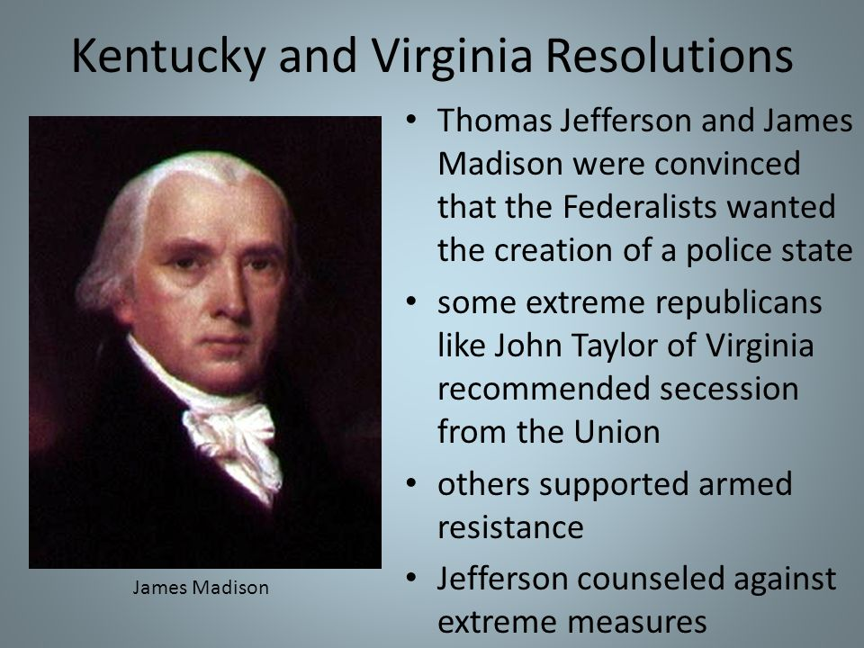 Kentucky and Virginia Resolutions