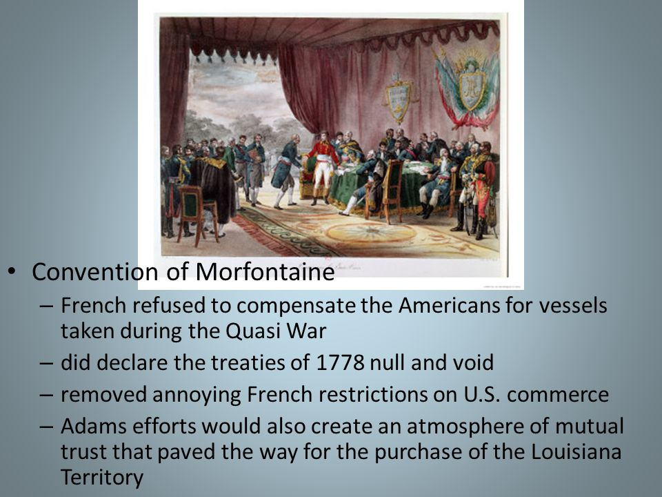 Convention of Morfontaine